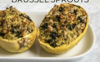 Turkey Stuffed Spaghetti Squash