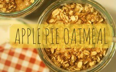 Apple Pie Protein Oatmeal