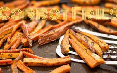 Oven-Baked Carrot Fries