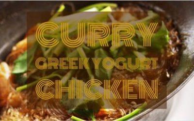 Curry Greek Yogurt Chicken