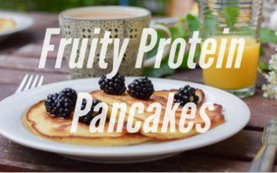 Fruity Protein Pancakes