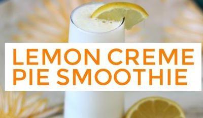 Lemon Creme Pie Smoothie