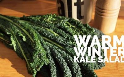 Warm Winter Kale Salad