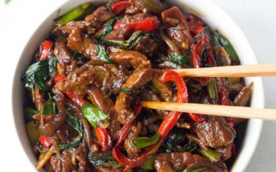 Thai Basil Flank Steak