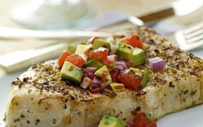 Swordfish and Tomato Salsa