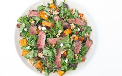 Irresistible Steak and Sweet Potato Salad